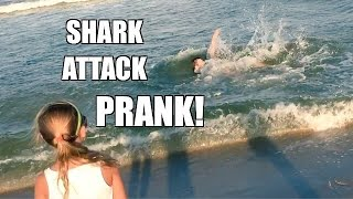 fat man shark attack prank grim s hilarious antics in the ocean