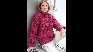 Модели Вязаных Джемперов для Женщин Спицами - 2019 / Knitted Jumpers For Women Knitting Patterns