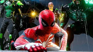 Marvel SPIDER-MAN PS4 - Gameplay Demo Electro/Rhino/Scorpion/Vulture (E3 2018)
