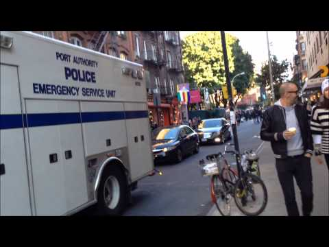 RARE NEW YORK & NEW JERSEY PORT AUTHORITY POLICE DEPARTMENT EMERGENCY SERVICE UNIT IN NEW YORK.