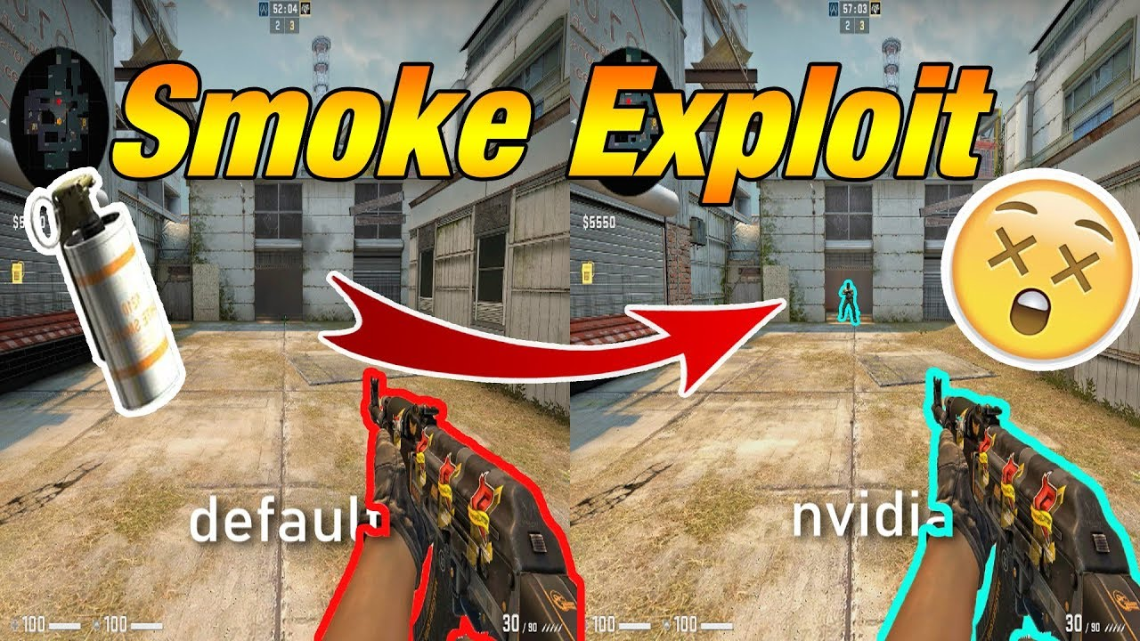NEW SMOKE BUG SETTINGS CS:GO *NVIDIA EXPLOIT* + Tutorial