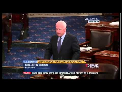 McCain on CIA Report: Torture Was 'Ineffective,' 'Stained Our National Honor'