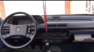 1985 Honda Accord 5MT Short Test Drive