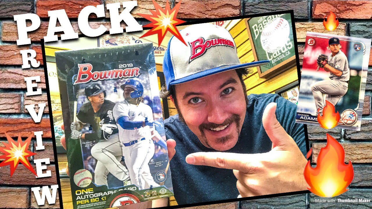Pack Preview 2019 Bowman Baseball Cards