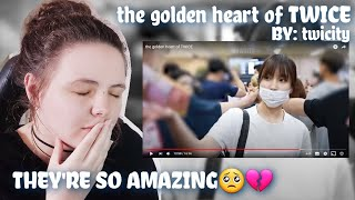 Download the golden heart of TWICE [By: twicity]   REACTION!!!