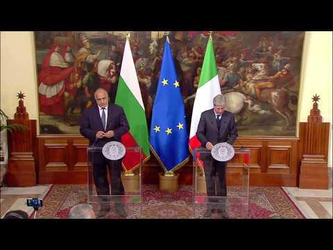 Dichiarazioni alla stampa del Presidente Gentiloni e del Primo Ministro bulgaro Borissov