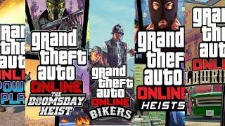 Эволюция Grand Theft Auto Online ★ Все трейлеры Grand Theft Auto Online (2013-2018)