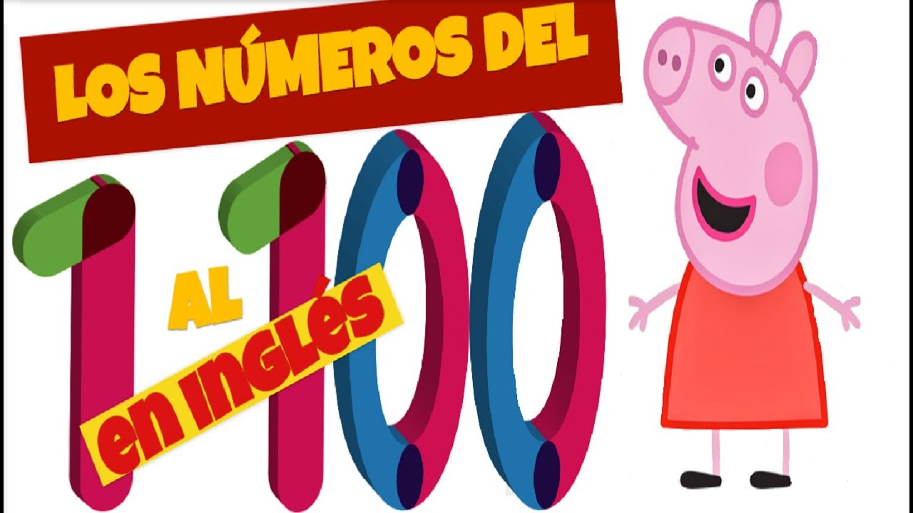 Números En Inglés Del 1 Al 100 Numbers From 1 To 100 Youtube
