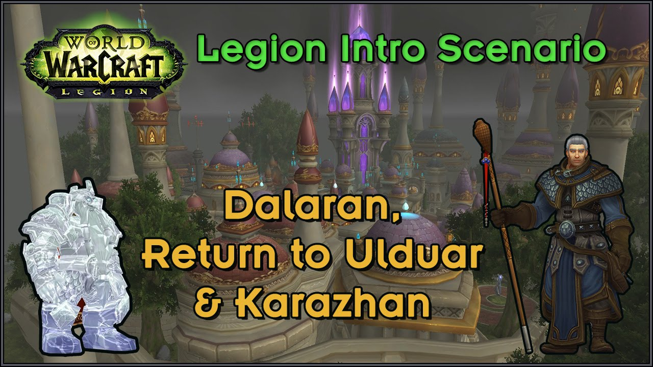 wow return to karazhan how to get to the library