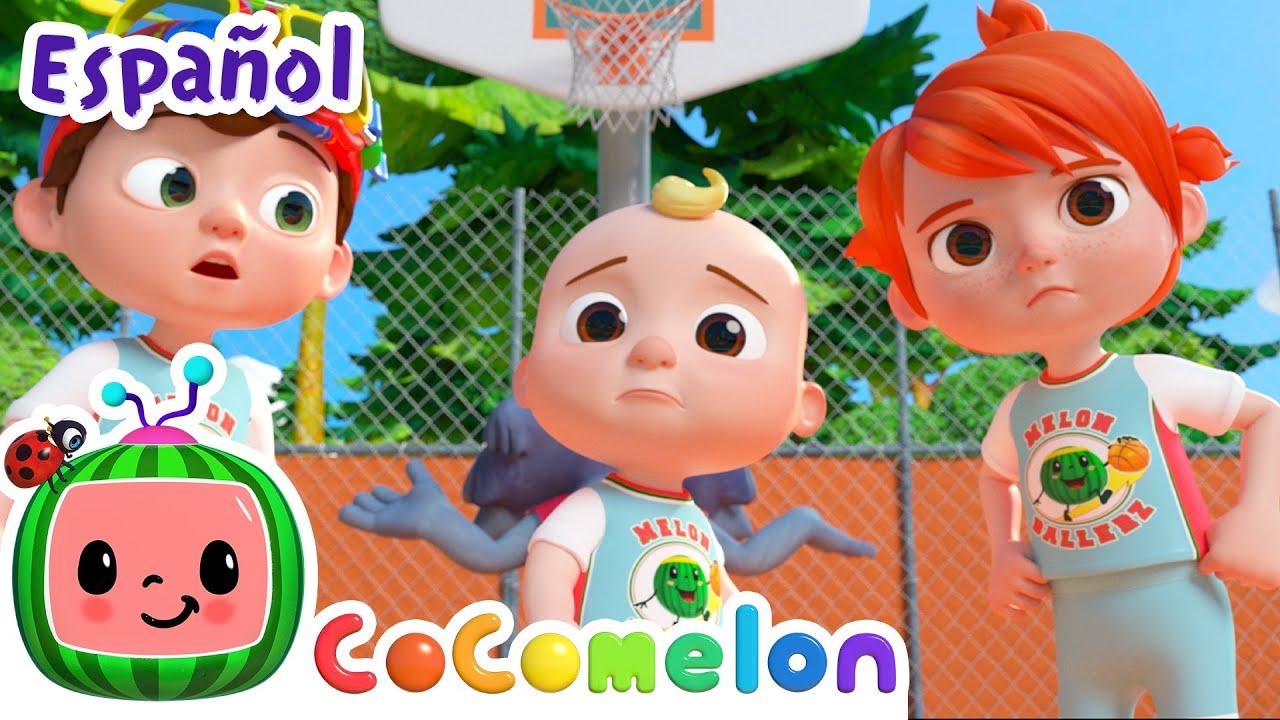 CoComelon en Español | Juguemos baloncesto | Canciones Infantiles y de Cuna