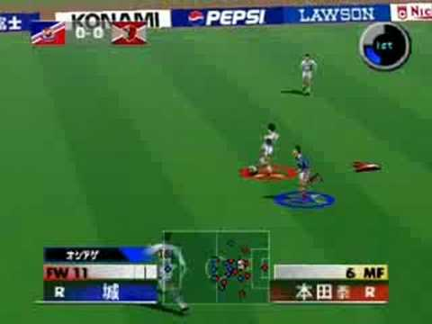 J-League Perfect Striker 2 - Marinos X Antlers 1st Half
