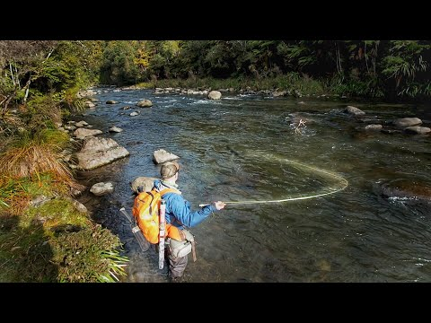 Exploring Uncharted Water In Remote Wilderness For Big Trout!!