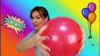 Juegos DIVERTIDOS con globos | BALLON CHALLENGE