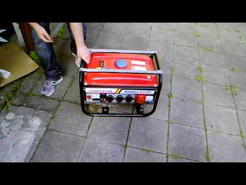 generator kw6500 - YouTube