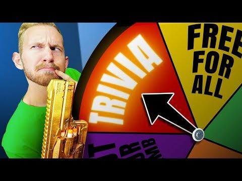 NERF Roulette Trivia Challenge!