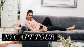 MY NYC APARTMENT TOUR!!! || DEEPICA