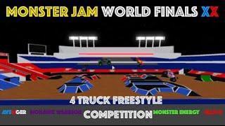 Roblox Monster Jam CONcorso freestyle Roblox Monster Jam WF20! (4 Autocarri)