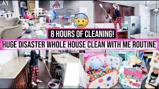 NEW! EXTREME WHOLE HOUSE CLEAN WITH ME 2019 | ALL DAY SPEED CLEANING MOTIVATION | CLEANING ROUTINE
