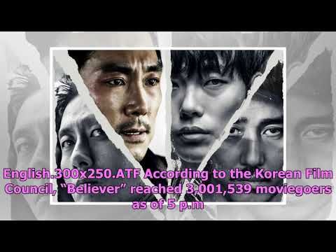 """""""Believer"""" Cast Celebrates Becoming The Fastest Korean Film In 2018 To Reach 3 Million Moviegoers"""