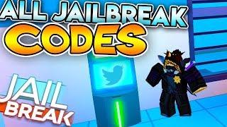 ALL WORKING CODES ON JAILBREAK! (Roblox Jailbreak)
