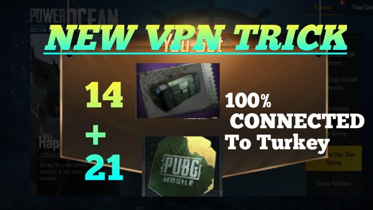 New free VPN Trick pubg mobile-VPN Trick Turkey-How to connect Turkey vpn