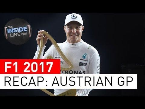 F1 NEWS 2017 - RACE RECAP: AUSTRIAN GRAND PRIX [THE INSIDE LINE TV SHOW]