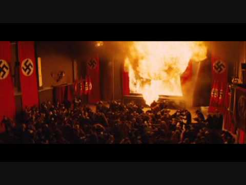 Inglourious Basterds- the Ending, the MOST exciting scene