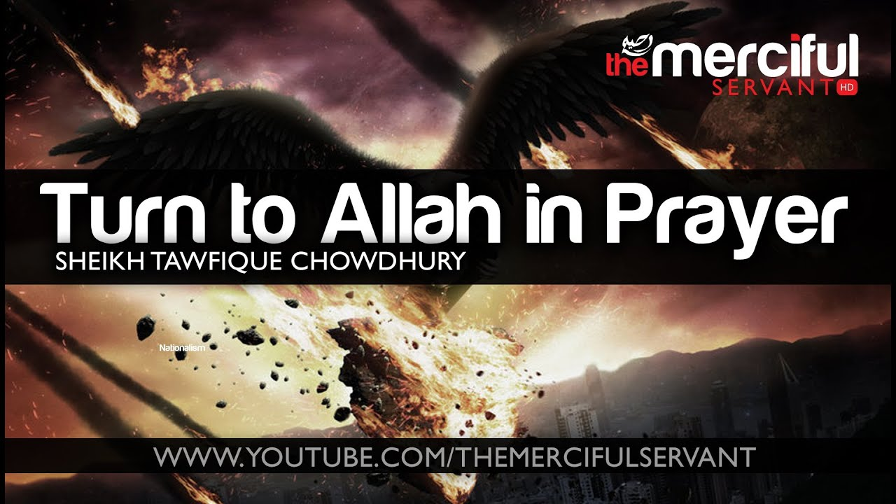 turn to allah in prayer  u1d34 u1d30 powerful reminder