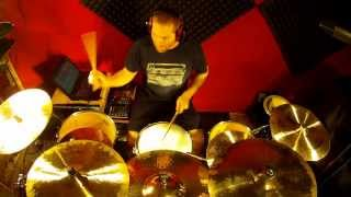 "★ EWAN DOBSON - ""Autumn Red"" [ SESSION DRUMS by ZACK B ] ★"