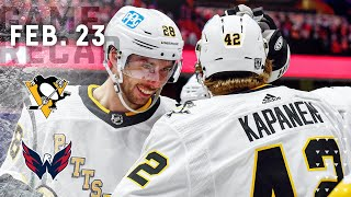 Game Recap: Penguins vs.Capitals (02.23.21) | Kasperi Kapanen's Overtime Goal