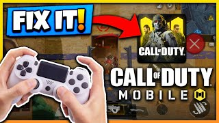 COD MOBILE CONTROLLER ERROR WITH ANDROID FIX | DUALSHOCK 4 NOT WORKING ON ANDROID