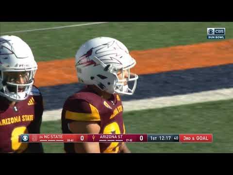 2017.12.29 Hyundai Sun Bowl: NC State Wolfpack vs Arizona State Sun Devils Football