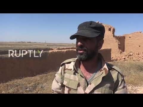 Сирия. Война в Сирии. SAA продолжает операцию по обеспечению безопасности против ИГИЛ вблизи Ракки