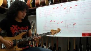 (Baca Not Balok Gitar) Mudah Dimengerti Bahasa Ind