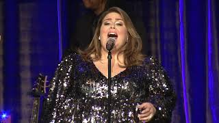 """Chrissy Metz performs """"I'm Standing With You"""" at ACLU SoCal Bill of Rights Dinner 2019"""