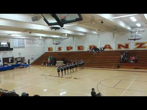 Montebello high school drill team- med- (NRG COMPETITION MAY 6,2017) 2ND PLACE