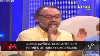 Don Carter se luce con chiste sin censura