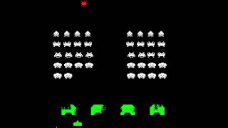 Arcade Game: Space Invaders (1978 Midway/Taito)