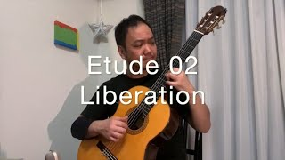 Etude 02 Liberation  解き放たれた心 (composed and played by Daisuke Suzuki)
