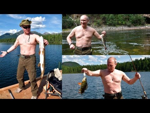 EXCLUSIVE TV Report From Putin's Fishing Adventure in Siberia, Russia