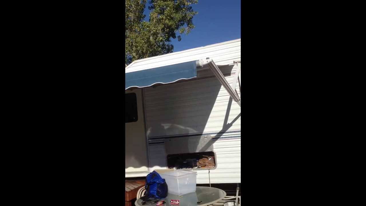 A&E Dometic Weather Pro Power RV Awning - YouTube