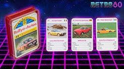 Retro80 #23 🚗 Supertrumpf Quartett Kartenspiele