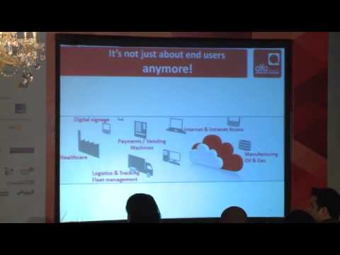 Talk by Alfa Telecom during Design+Code Day