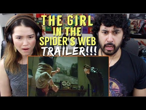 THE GIRL IN THE SPIDER'S WEB    REACTION & !!!