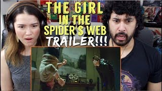 THE GIRL IN THE SPIDER'S WEB - Official TRAILER REACTION & REVIEW!!!