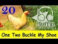 One Two Buckle My Shoe | Family Sing Along - Muffin Songs