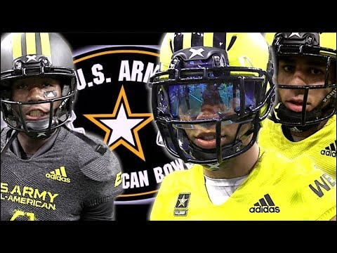 🔥🔥 U.S Army All-American Bowl 2018 - Action Packed Highlight Mix