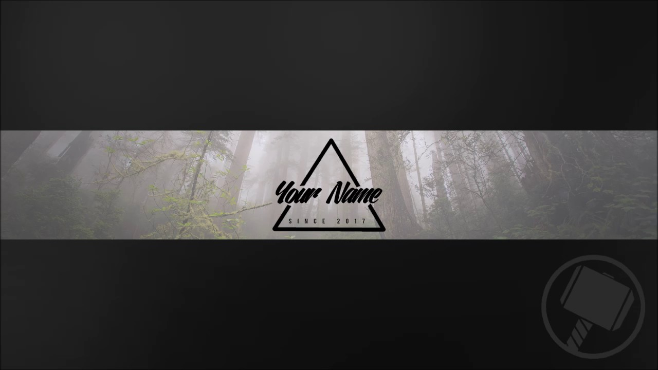 HIPSTER YOUTUBE BANNER TEMPLATE   YouTube HIPSTER YOUTUBE BANNER TEMPLATE