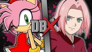 Amy VS Sakura | DBX
