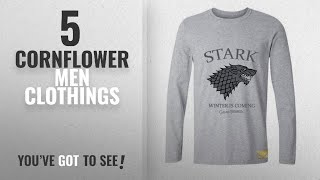Top 10 Cornflower Men Clothings [ Winter 2018 ]: Cornflower Stark Winter Is Coming Game of Thrones